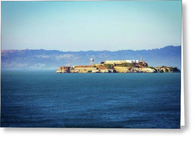 Alcatraz Greeting Card