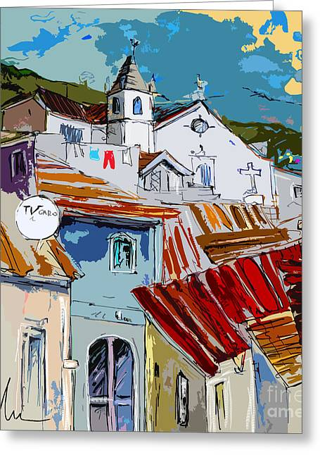 Alcoutim In Portugal 08 Bis Greeting Card