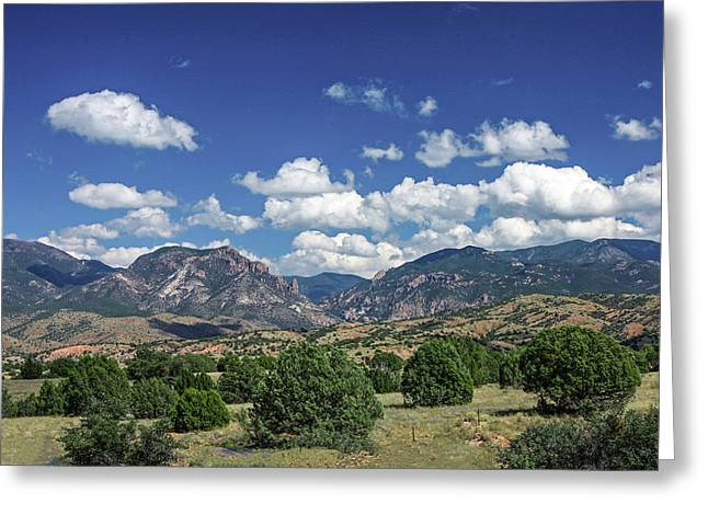 Aldo Leopold Wilderness, New Mexico Greeting Card