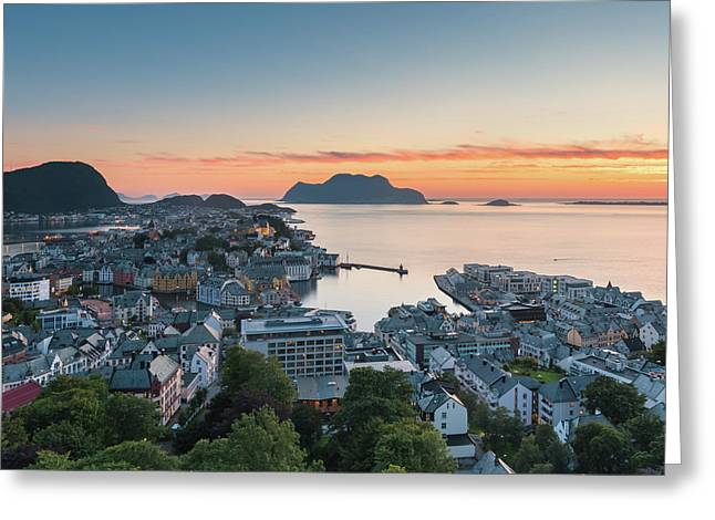 Alesund 01 Greeting Card