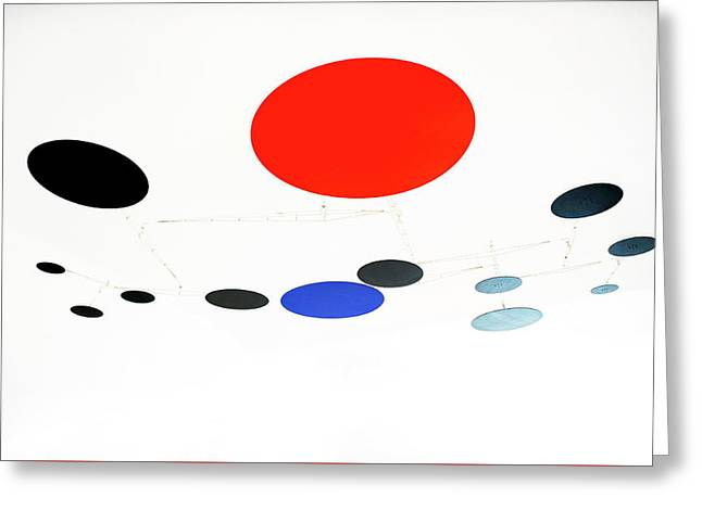 Alexander Calder Mobile 1 Greeting Card