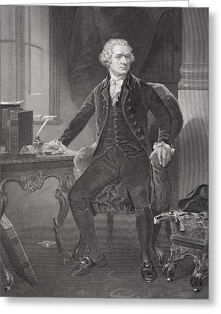 Alexander Hamilton 1755 Or 1757 To Greeting Card