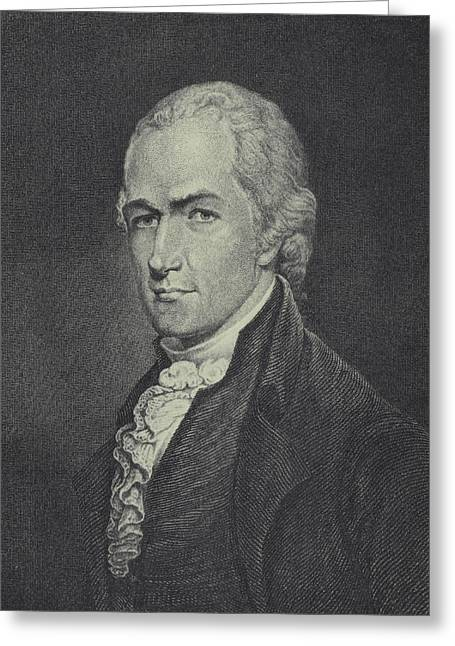 Alexander Hamilton Greeting Card by Archibald Robertson
