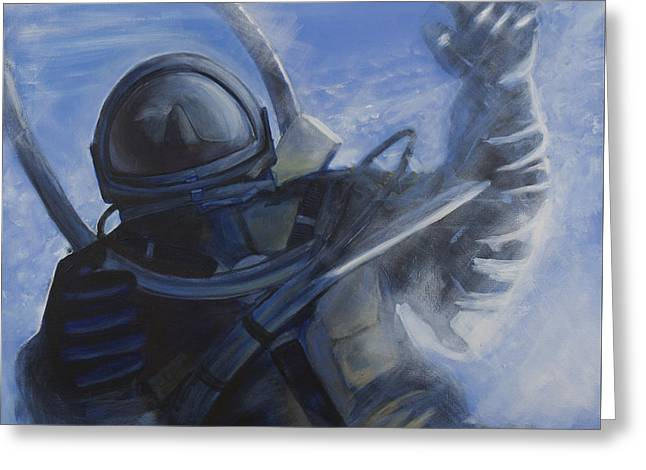 Alexei Leonov Greeting Card