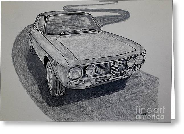 Alfa Romeo Gtv  Greeting Card