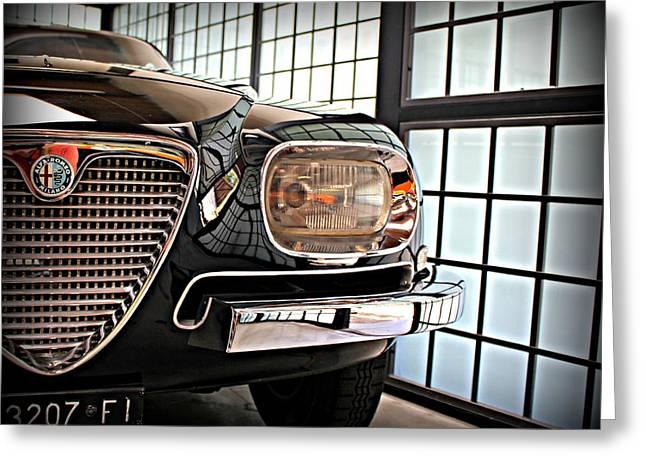 Alfa Romeo In Black Greeting Card