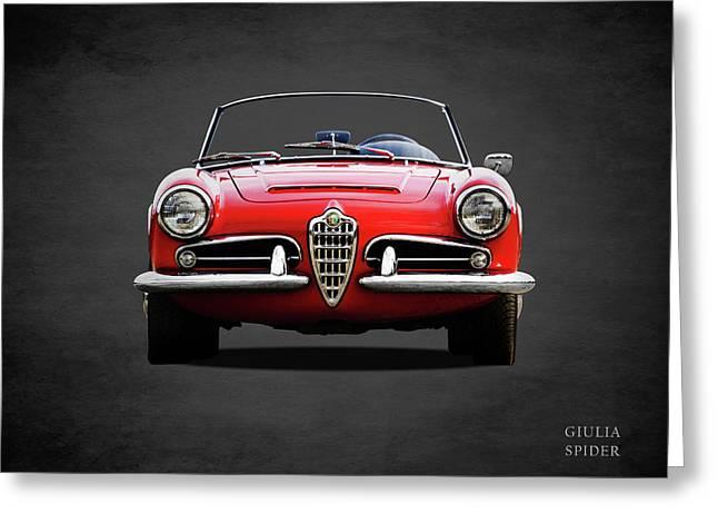 Alfa Romeo Spider Greeting Card
