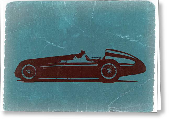 Alfa Romeo Tipo 159 Gp Greeting Card