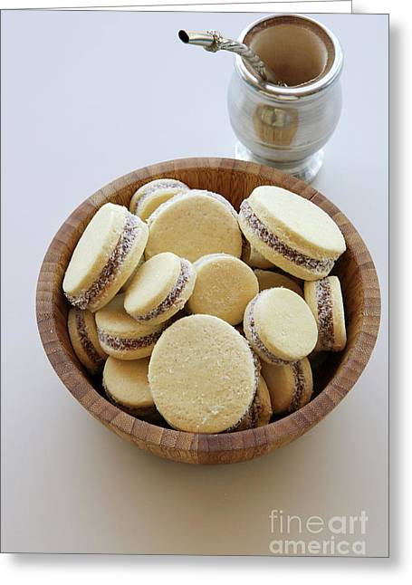 Alfajor Cookies  Greeting Card by PhotoStock-Israel