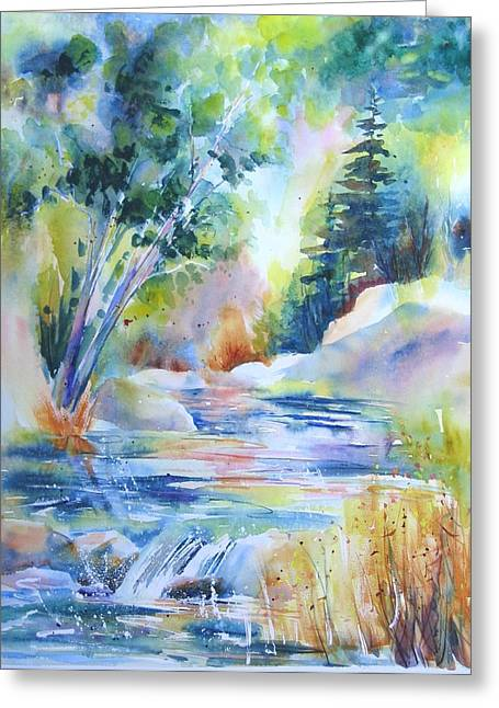 Algonquin Waters Greeting Card
