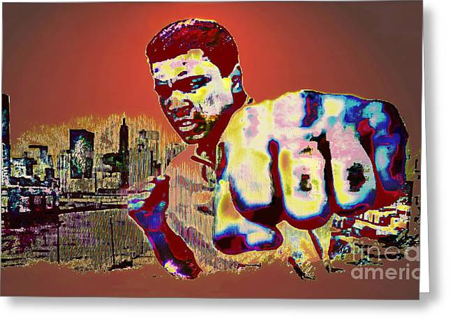Ali The Greatest - Tribute Greeting Card