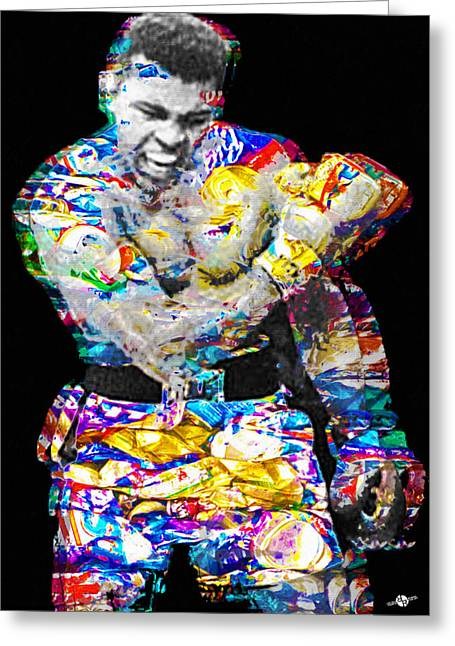 Cassius Clay Greeting Card