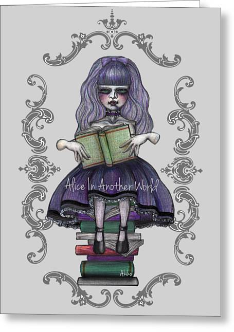 Alice In Another World 2 Greeting Card