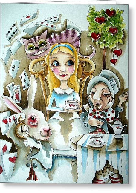 Alice In Wonderland 1 Greeting Card