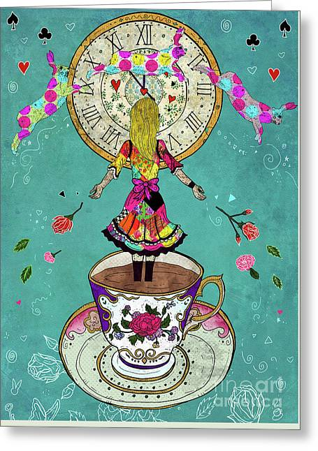 Alice's Dream Greeting Card