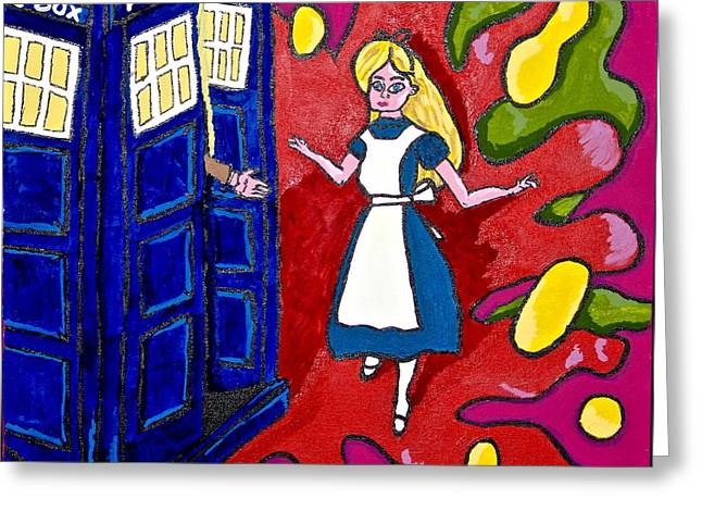 Alice's Next Adventure Greeting Card