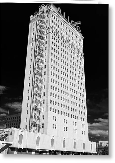 Alico Building #3 Greeting Card by Stephen Stookey
