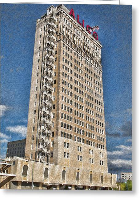 Alico Building #5 Greeting Card by Stephen Stookey