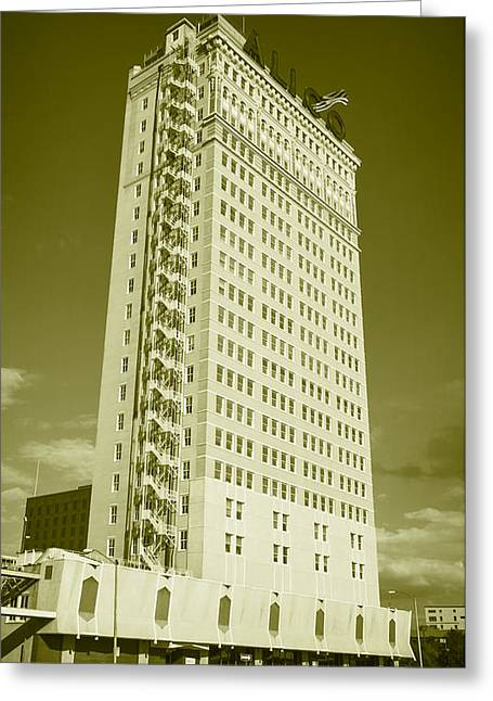 Alico Building #6 Greeting Card by Stephen Stookey
