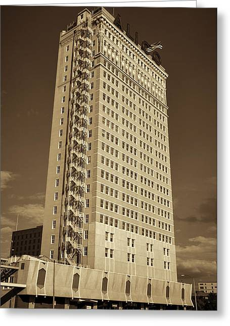 Alico Building #7 Greeting Card by Stephen Stookey