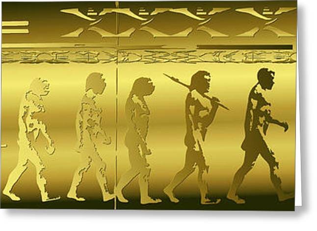 Greeting Card featuring the photograph Alien Evolution by Robert G Kernodle