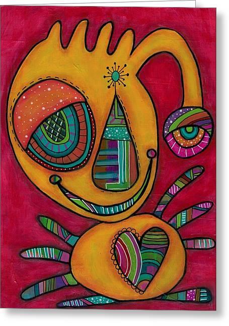 Aliens United-le Poulpillon Greeting Card