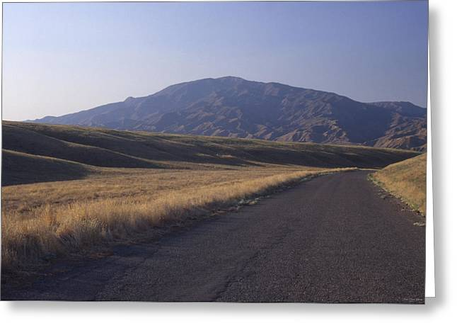 Aliso Road - Caliente Range Greeting Card