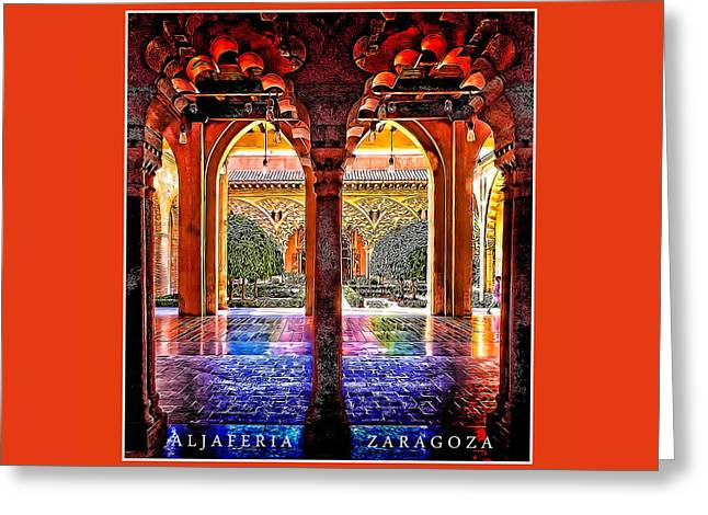 Aljaferia Coloratura Greeting Card