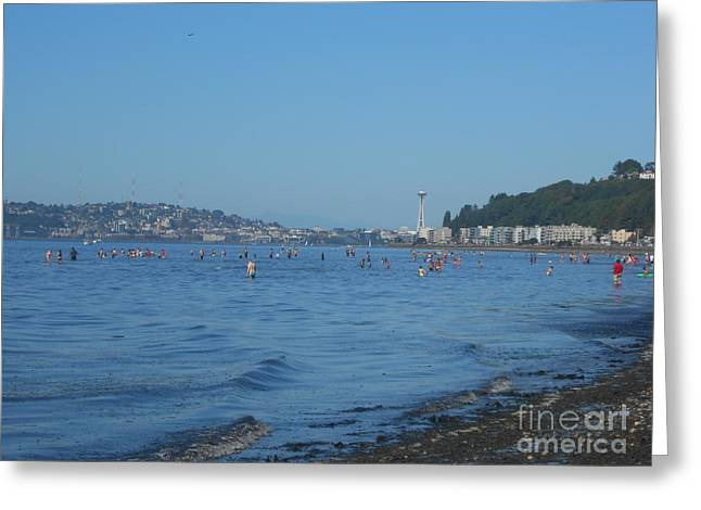 Alki Beach Greeting Card