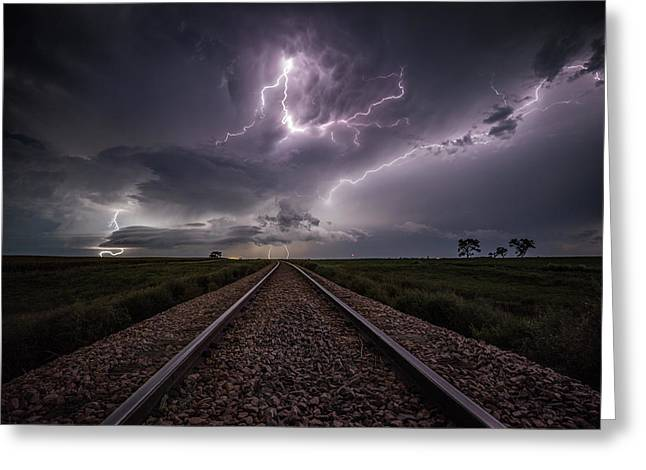 Greeting Card featuring the photograph All Aboard  by Aaron J Groen