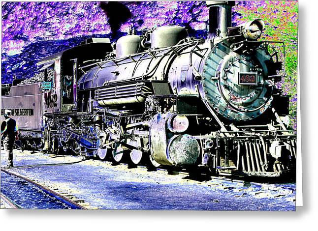 All Aboard Greeting Card by Peter  McIntosh