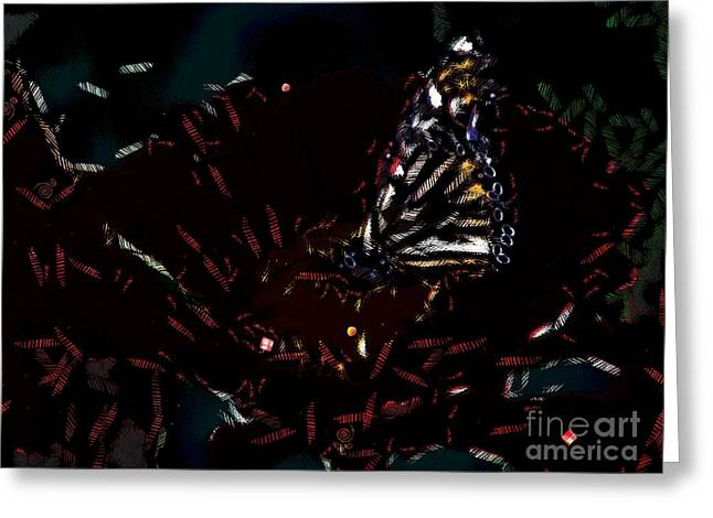 All About The Butterfly  Greeting Card by Catherine Lott
