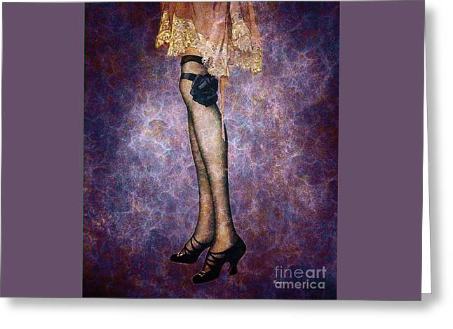 All Dressed Up For The Party Greeting Card by Tammera Malicki-Wong