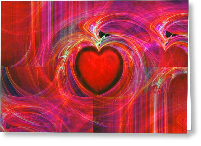 All I Have To Give You Greeting Card by Michael Durst