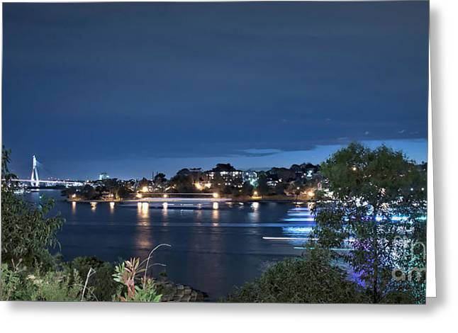 Greeting Card featuring the photograph All Lit Up by Elaine Teague