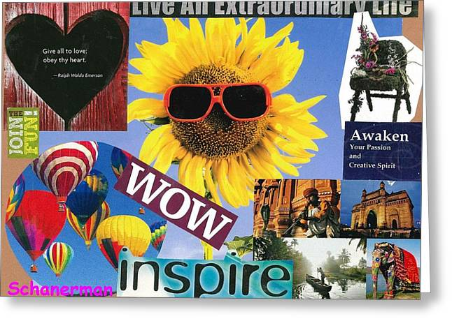 All Of Life Can Inspire Greeting Card