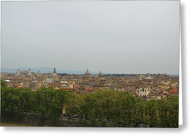 View All Of Rome Greeting Card by JAMART Photography