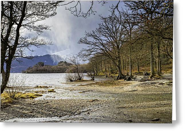 Greeting Card featuring the photograph All Seasons At Loch Lomond by Jeremy Lavender Photography