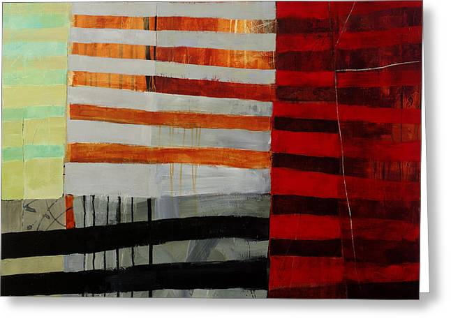 All Stripes 1 Greeting Card by Jane Davies