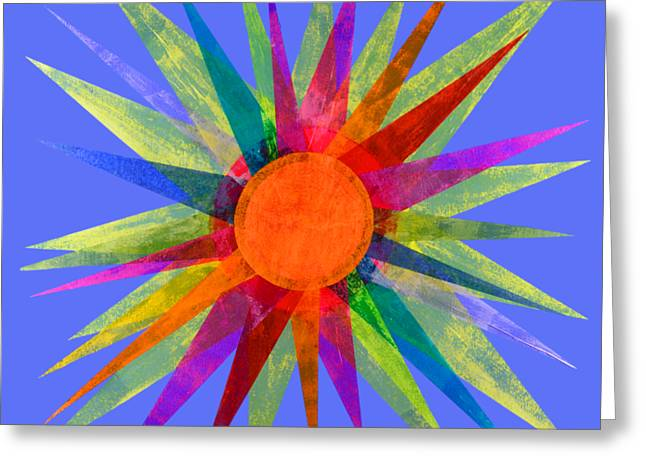 All The Colors In The Sun Greeting Card