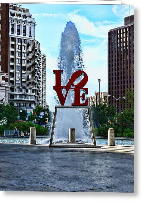 Luv Greeting Cards - All you need is love Greeting Card by Paul Ward
