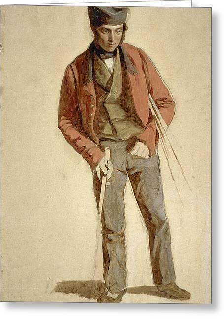 Allan Robertson, Fl. 1847. Golf Ball Maker Greeting Card