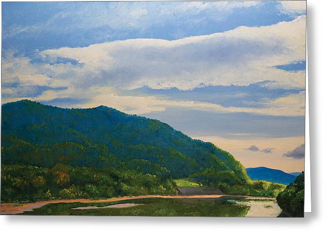 Allegheny September Greeting Card by Bob Thomas