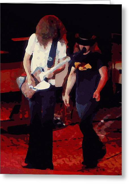 Allen And Ronnie Winterland 1 Greeting Card