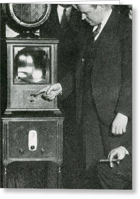 Allen Dumont, American Scientist Greeting Card