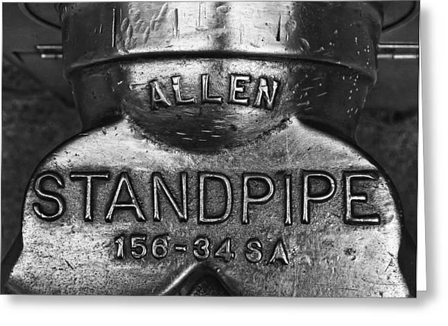 Allen Standpipe Greeting Card by Robert Ullmann