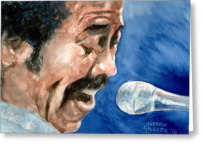 Allen Toussaint Greeting Card