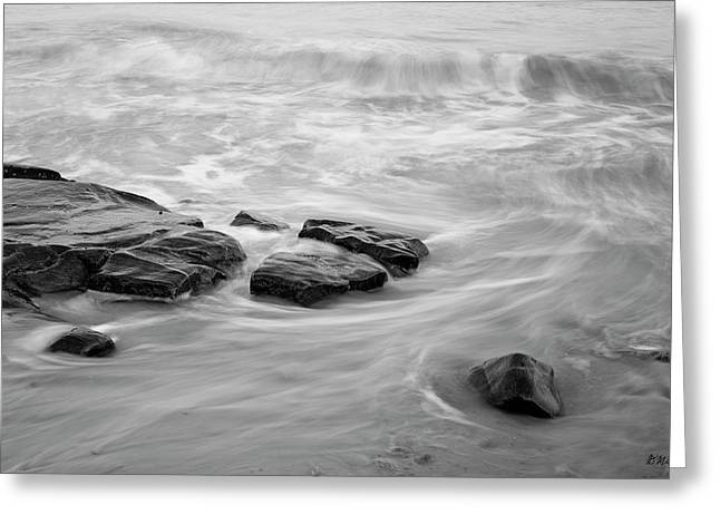 Greeting Card featuring the photograph Allens Pond Xiii Bw by David Gordon