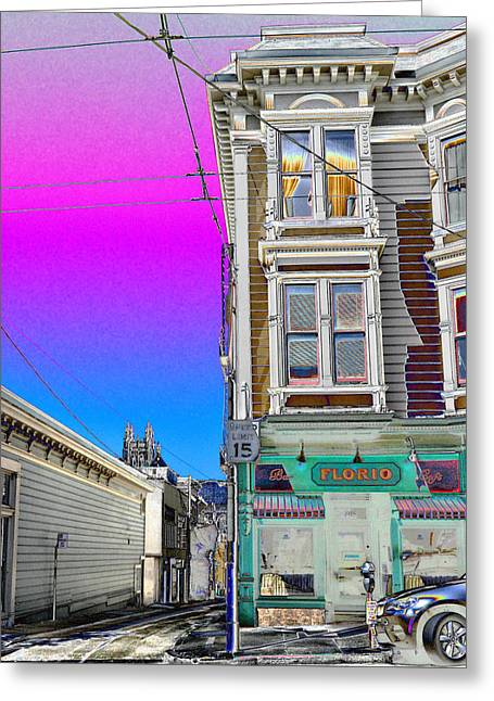 Alley Apartment  Greeting Card