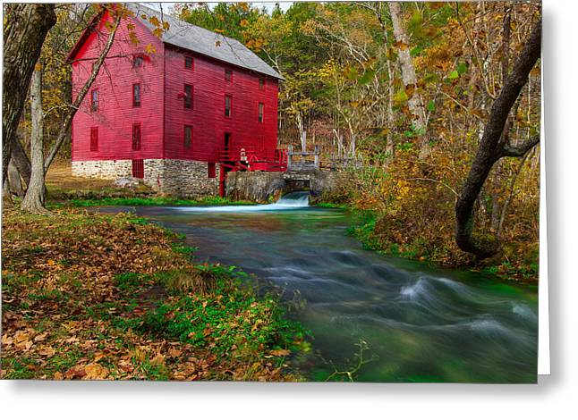 Alley Mill 8x10 Greeting Card